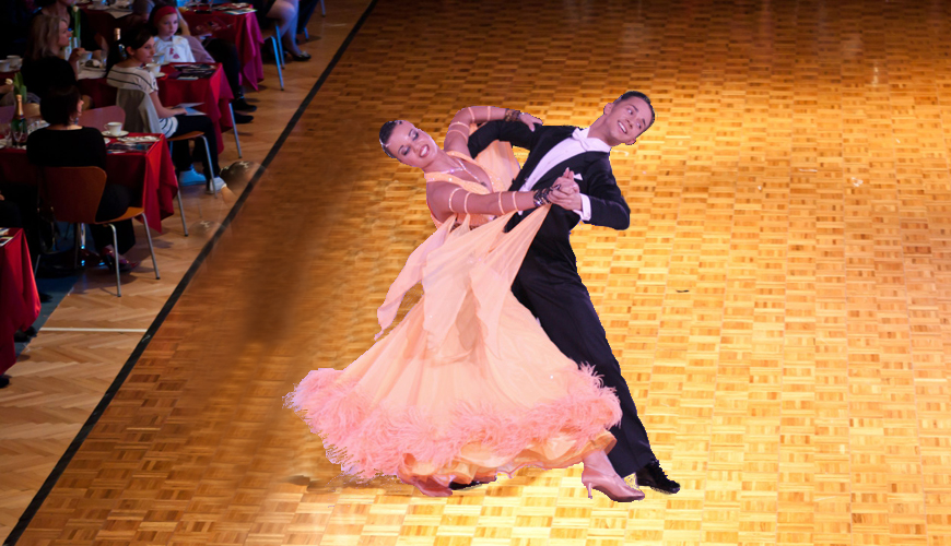 Compeive Ballroom International Standard Dance Lessons